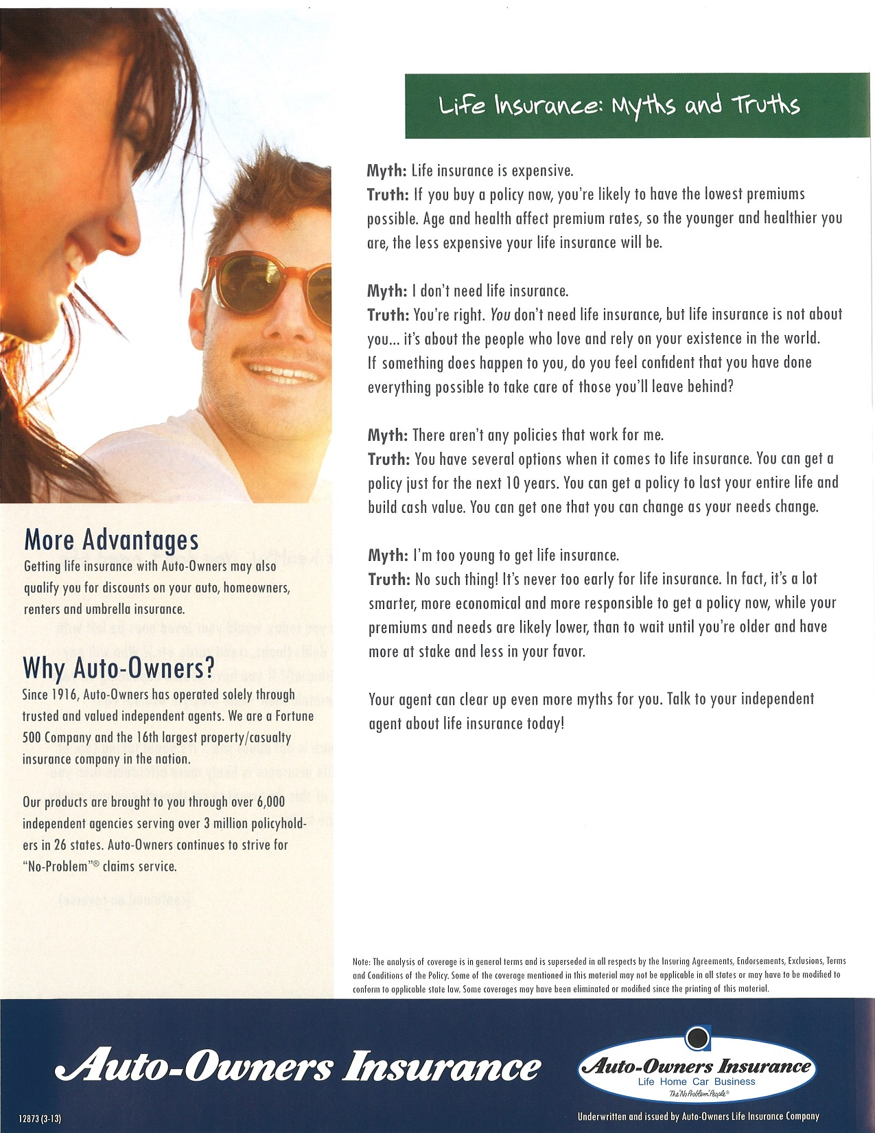 Life Insurance: Myths and Truths MUST READ!!